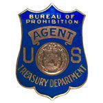 United States Department of the Treasury - Internal Revenue Service - Bureau of Prohibition