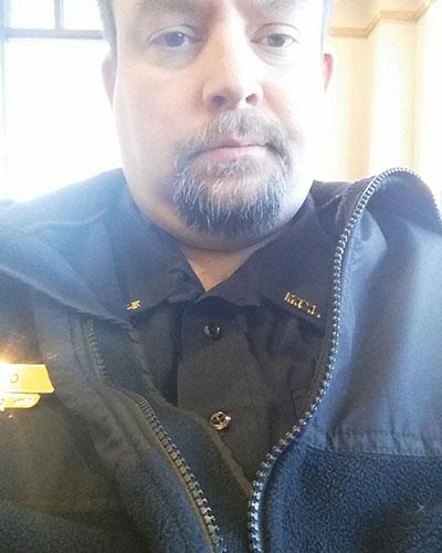 Corrections Officer Joseph Gomm